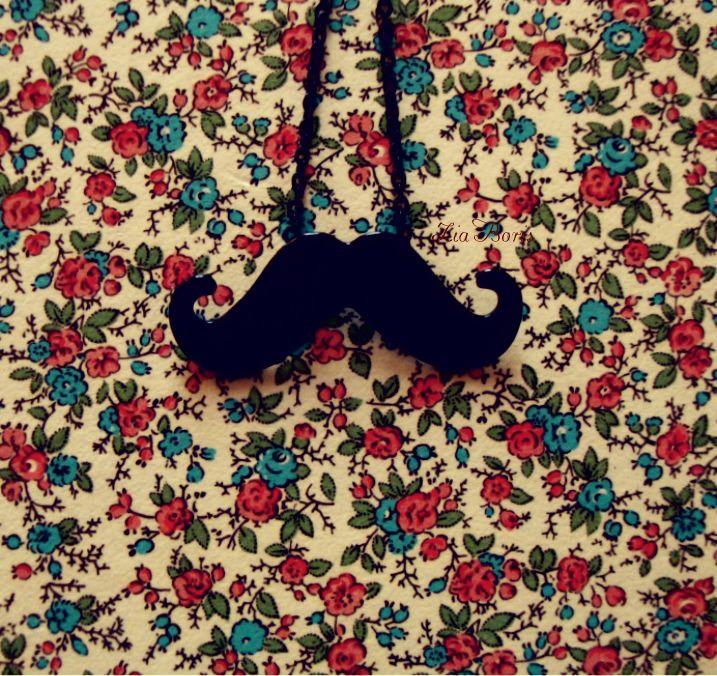 Flower Mustache by ZiaBoris