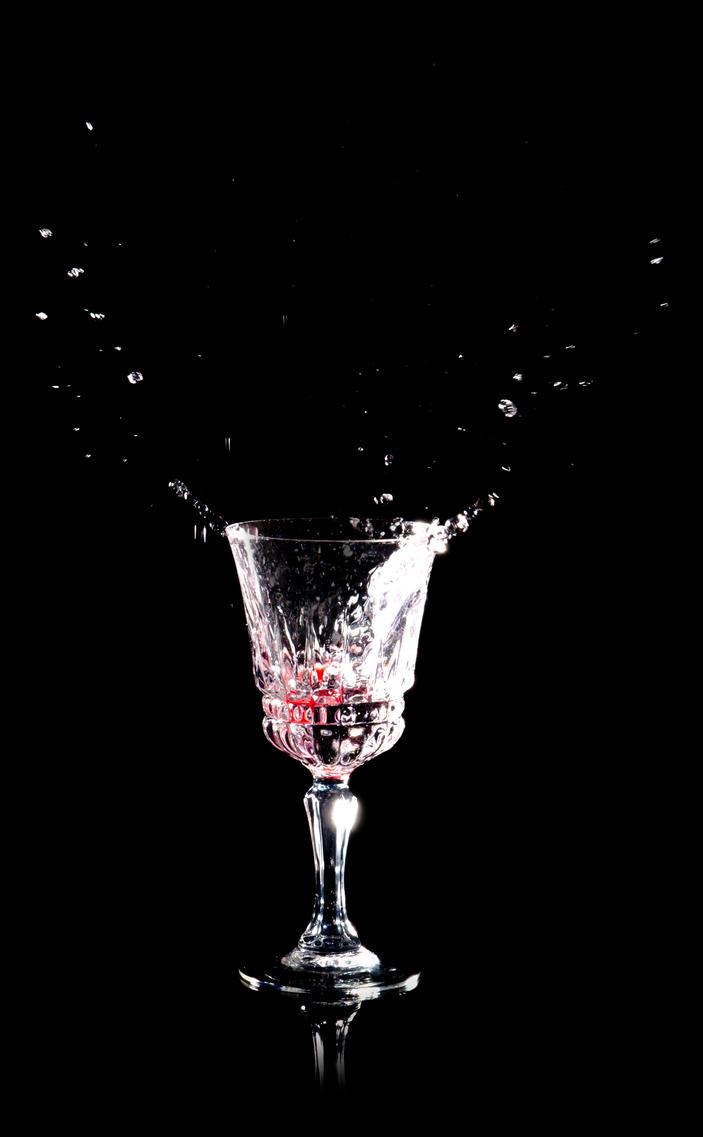 Crystal Raspberry Splash by Iridium-77
