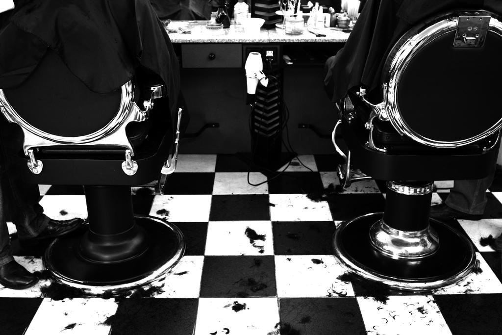 The Barber's Shop Floor by Iridium-77