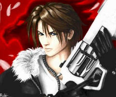 Squall from FF8 by Rubi