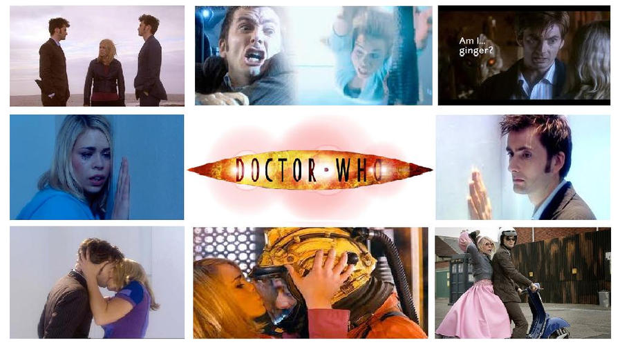 Doctor Who: 10th X Rose By LordOlxinator On DeviantArt