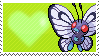 012 - Butterfree by Marlenesstamps