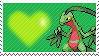 253 - Grovyle by Marlenesstamps