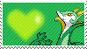497 - Serperior by Marlenesstamps