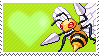 015 - Beedrill by Marlenesstamps