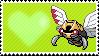 291 - Ninjask by Marlenesstamps