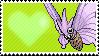 049 - Venomoth by Marlenesstamps