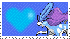 245 - Suicune by Marlenesstamps