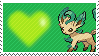 470 - Leafeon by Marlenesstamps