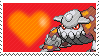 485 - Heatran by Marlenesstamps