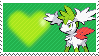 492 - Shaymin Sky Forme by Marlenesstamps