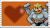 068 - Machamp by Marlenesstamps