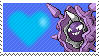 091 - Cloyster by Marlenesstamps
