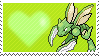 123 - Scyther by Marlenesstamps