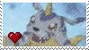 Gabumon by Marlenesstamps