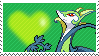 Shiny Serperior by Marlenesstamps