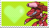 Shiny Genesect by Marlenesstamps