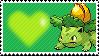Shiny Ivysaur by Marlenesstamps