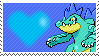 Shiny Feraligatr by Marlenesstamps