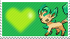 Shiny Leafeon by Marlenesstamps