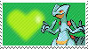 Shiny Sceptile by Marlenesstamps