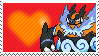 Shiny Emboar by Marlenesstamps