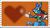 Maye The Robot Lucario by Marlenesstamps