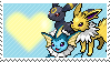 Umbreon, Jolteon and Vaporeon by Marlenesstamps
