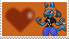 Nick The Lucario by Marlenesstamps