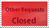 Other Requests CLOSED by Marlenesstamps