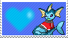 Seth The Robot Vaporeon by Marlenesstamps