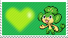 Shiny Pansage by Marlenesstamps