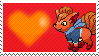 George The Vulpix by Marlenesstamps
