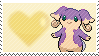 Shiny Audino by Marlenesstamps