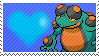 Shiny Seismitoad by Marlenesstamps
