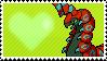 Shiny Scolipede by Marlenesstamps