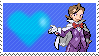 PKMN Trainer Eusine by Marlenesstamps