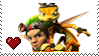 Jak and Daxter by Marlenesstamps