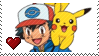 Ash Ketchum by Marlenesstamps
