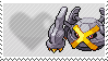 Shiny Metagross by Marlenesstamps