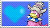 Shiny Slowking by Marlenesstamps