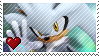 Silver The Hedgehog by Marlenesstamps