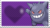 Shiny Gengar by Marlenesstamps