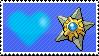 Shiny Staryu by Marlenesstamps