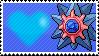 Shiny Starmie by Marlenesstamps