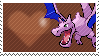 Shiny Aerodactyl by Marlenesstamps