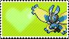 Shiny Mothim by Marlenesstamps