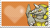 Shiny Rhyperior by Marlenesstamps