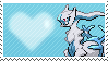 Ice Arceus by Marlenesstamps
