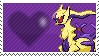Shiny Ghost Arceus by Marlenesstamps